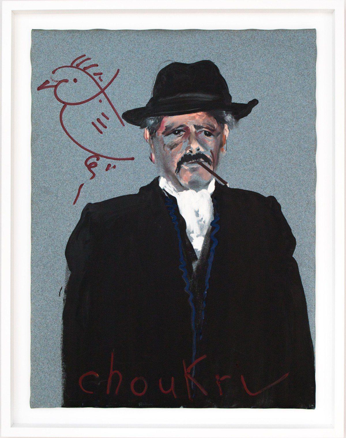 蒙迪諾 Choukri 1996 油氈油畫 120x90cm