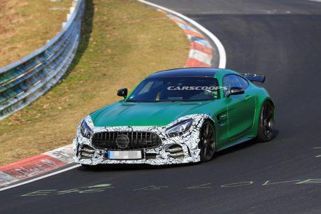 Mercedes-AMG GT R紐伯林賽道奔馳 前保桿竟有偽裝?