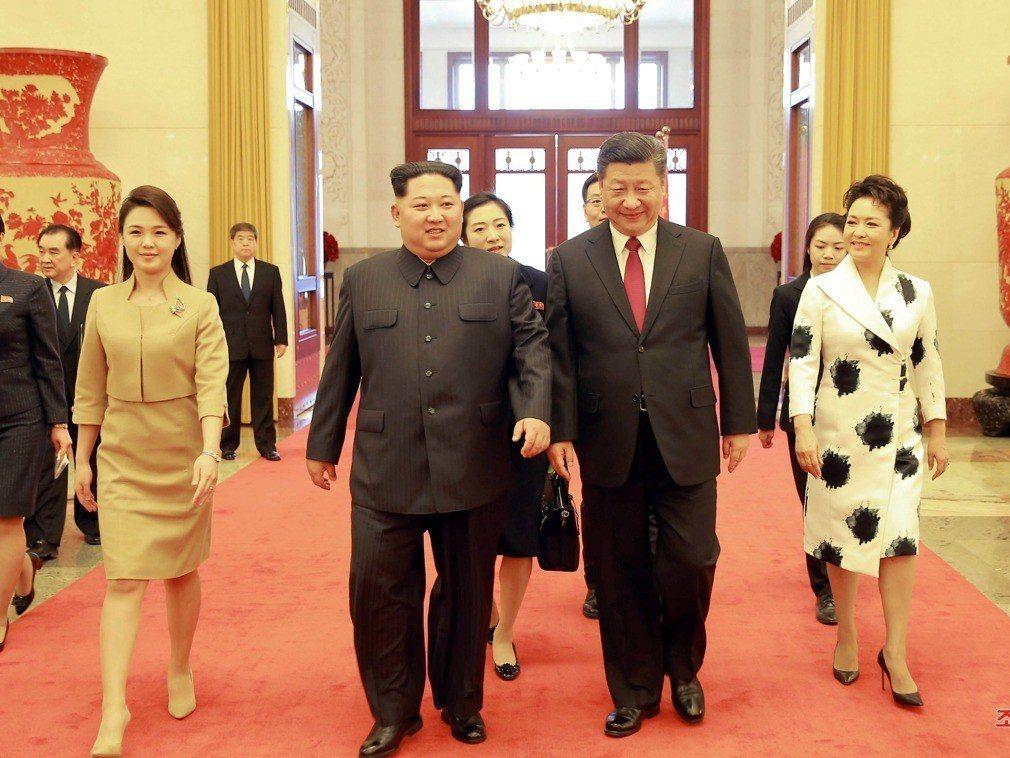 李雪主出訪創先河 確立北韓第一夫人地位
