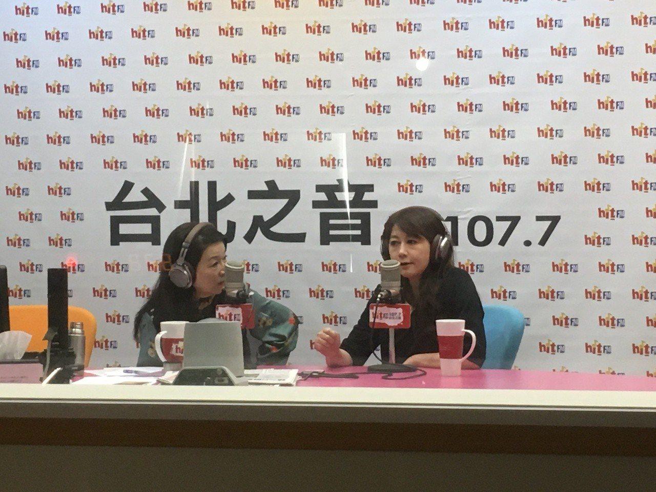 前台北市觀傳局長簡余晏今天早上接受電台專訪。記者張世杰/攝影