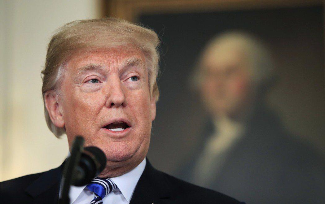 川普自豪說美韓重談FTA是項偉大交易,但實際效益可能沒多少。 美聯社