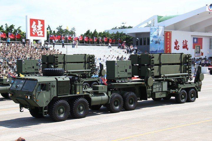 愛國者PAC-3飛彈發射車。記者洪哲政/攝影