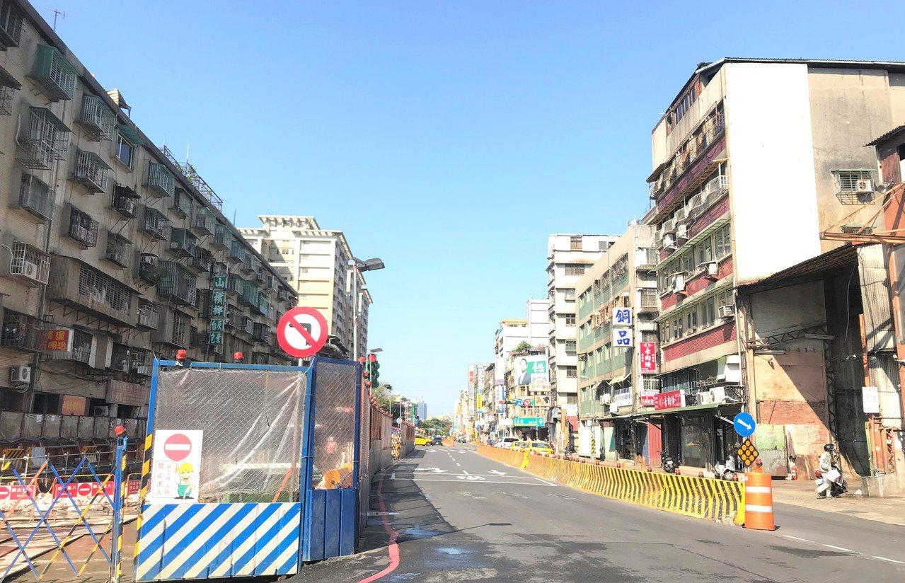 捷運萬大線西藏路一帶。記者游智文/攝影