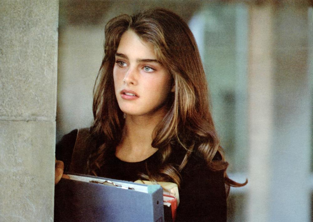 布魯克雪德絲年輕時是當紅的「漂亮寶貝」。圖/摘自imdb