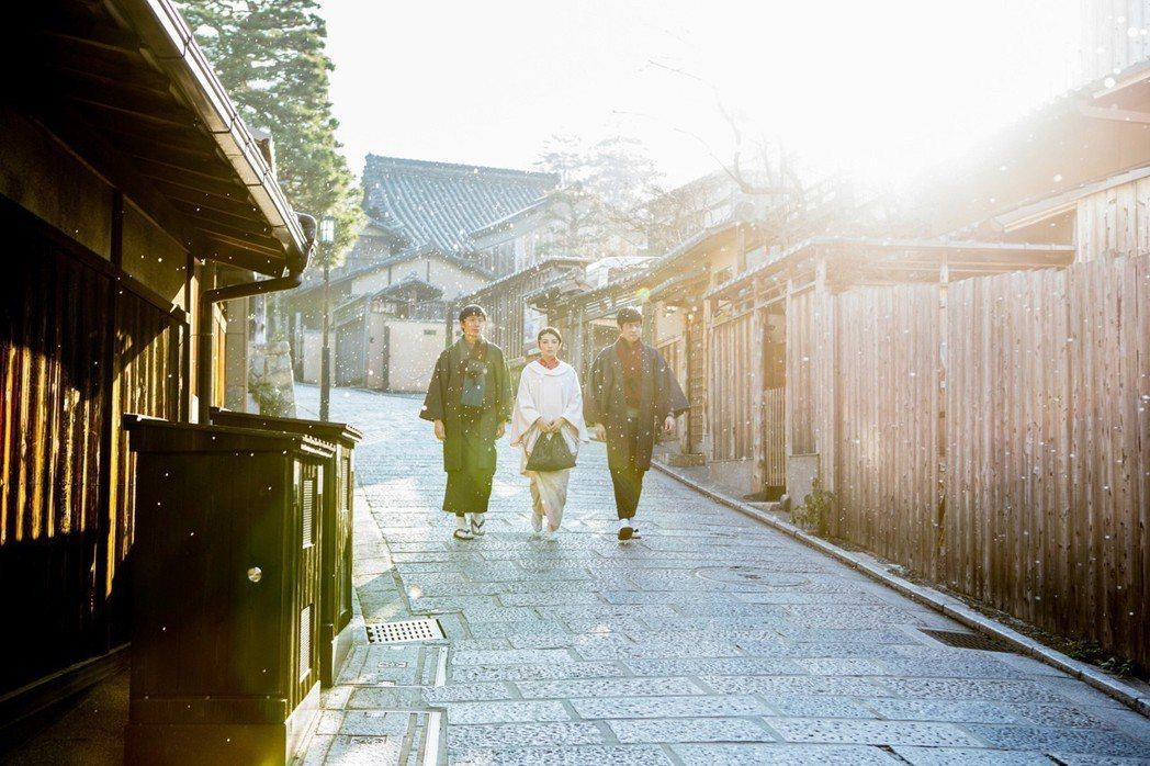 京都美麗的外景讓「盛情款待」受到不少觀眾期待。圖/華映提供