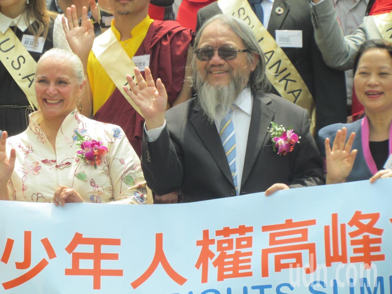 「第六屆亞太青少年人權高峰會」今天登場。記者張家樂/攝影