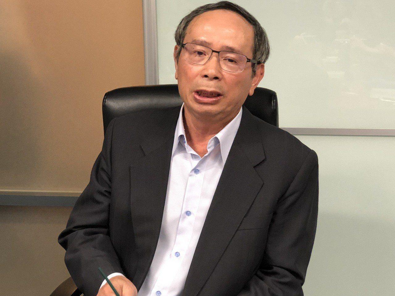 微星董事長徐祥。記者蕭君暉/攝影
