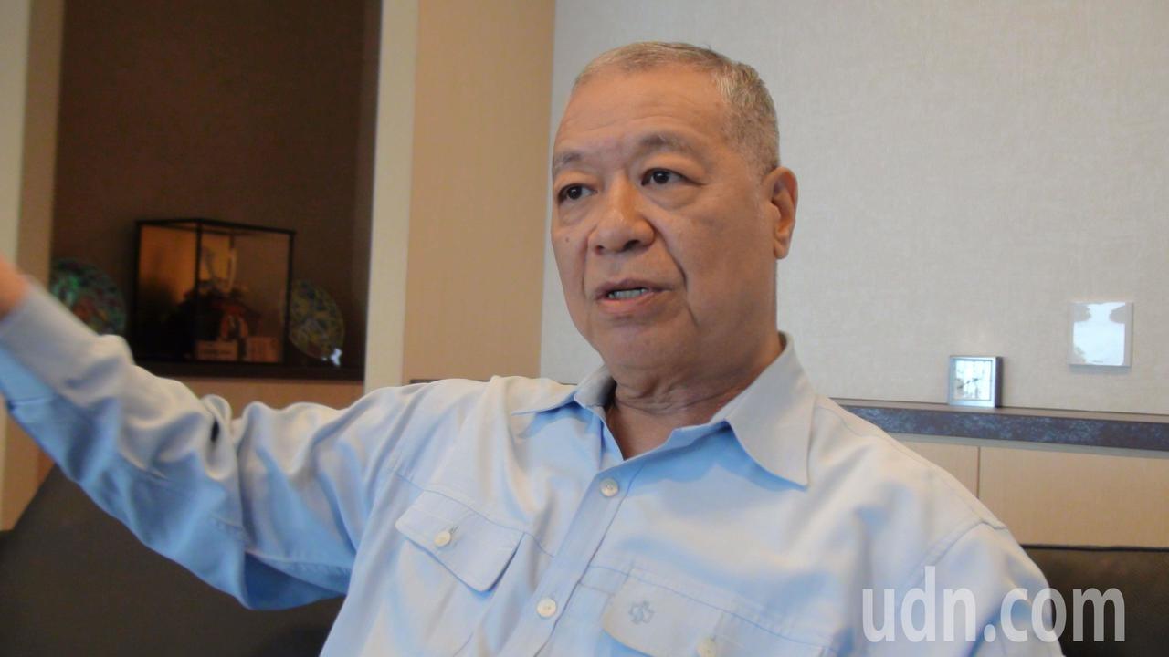 中鋼公司總經理劉季剛在中鋼工作近41年,明天屆齡退休。記者謝梅芬/攝影
