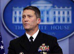 川普又開除一人 找白宮醫師掌退伍軍人部