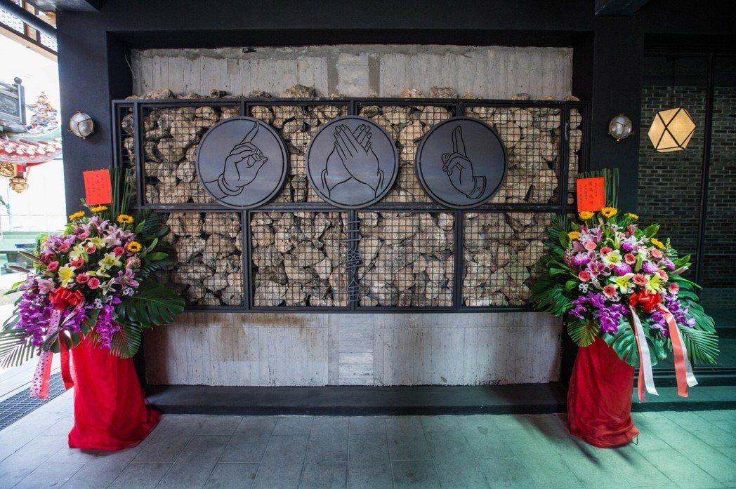 北港武德宮「三學舍」香客大樓取名於儒、道、佛3大學家。 記者蔡維斌/攝影