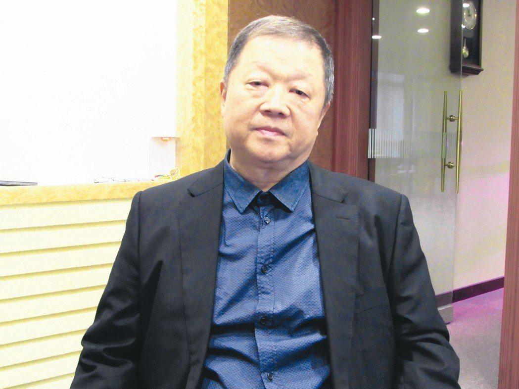 台業集團董事長莊碩鴻。 翁永全/攝影