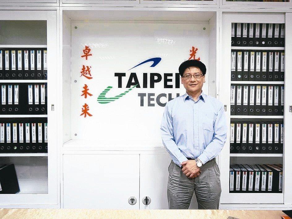 臺北科技大學能源與冷凍空調工程系前系主任簡良翰。 金萊萊/攝影