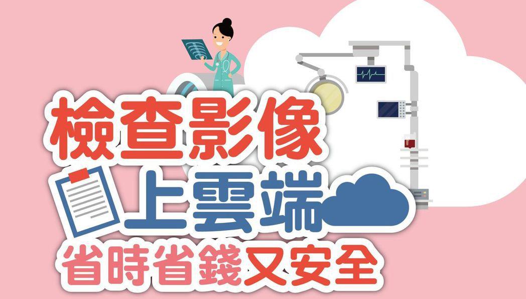 健保醫療雲端查詢系統,檢查影像上雲端,省時省錢又安全。