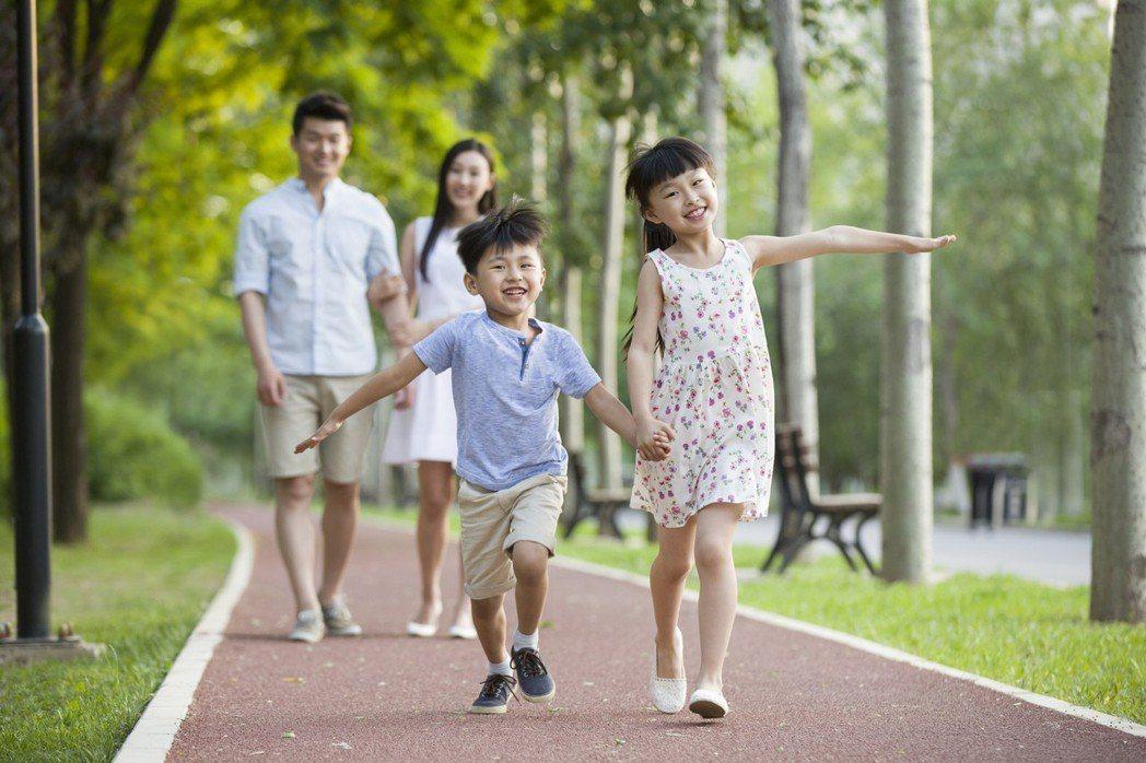 全球人壽建議兒童投保4重點,備妥保險防護罩,平安快樂長大。 全球人壽/提供