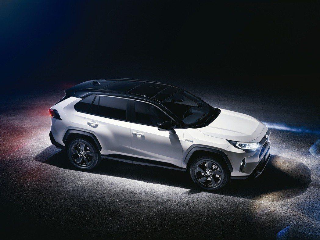 圖為全新Toyota RAV4。 摘自Toyota
