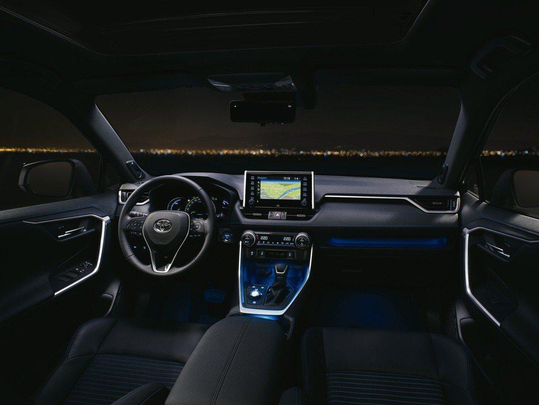 圖為全新Toyota RAV4 內裝。 摘自Toyota