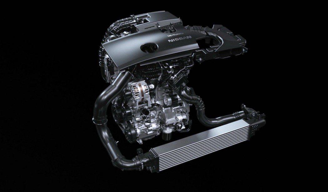 Nissan VC turbo可變壓縮比引擎。 摘自Nissan