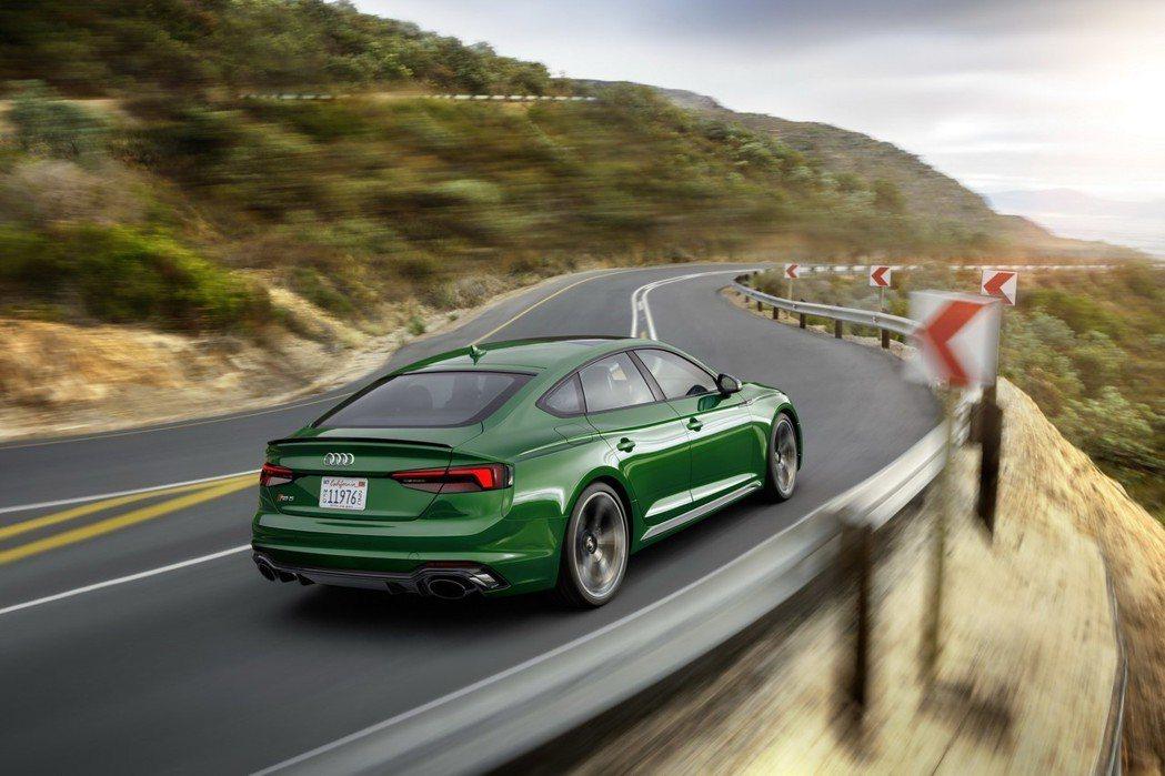 Audi RS5 Sportback。 摘自Audi