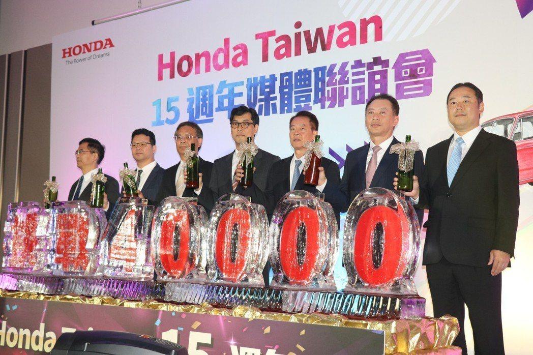 HONDA深耕台灣滿15周年,今年四輪設定40,000台,挑戰18%的年成長率。...