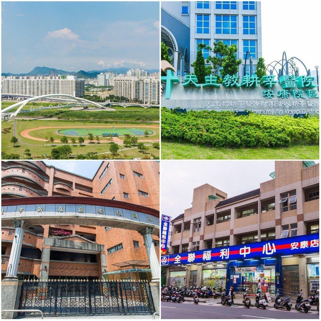 擁有豐富生活機能的「新店新都心」已吸引不少雙北移居客 圖/合陽天擎 提供