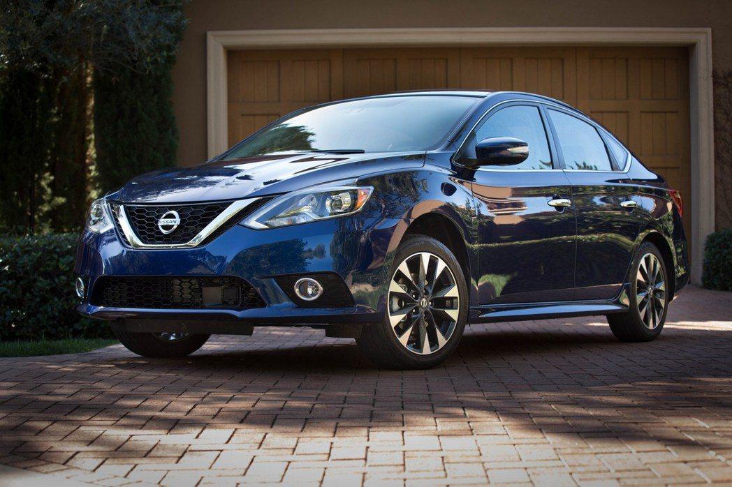 現行小改款Nissan Sentra。 摘自Nissan