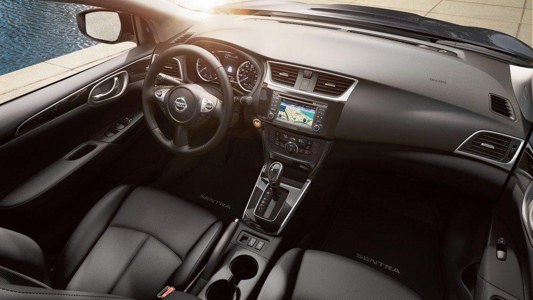 Sentra內裝仍有改空間。 摘自Nissan