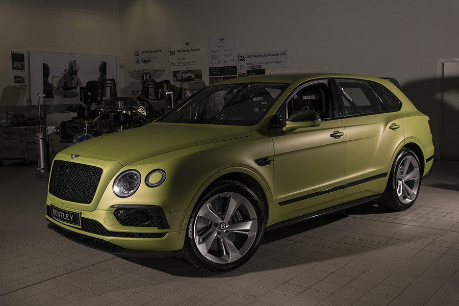 Bentley Bentayga。 Bentley提供