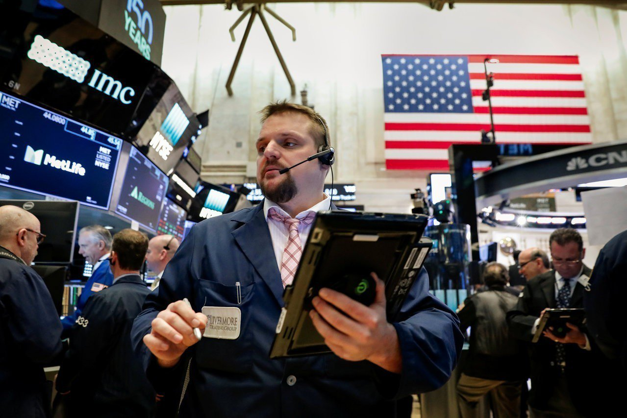 美股周四收漲,第1季劃下震盪句點。 路透