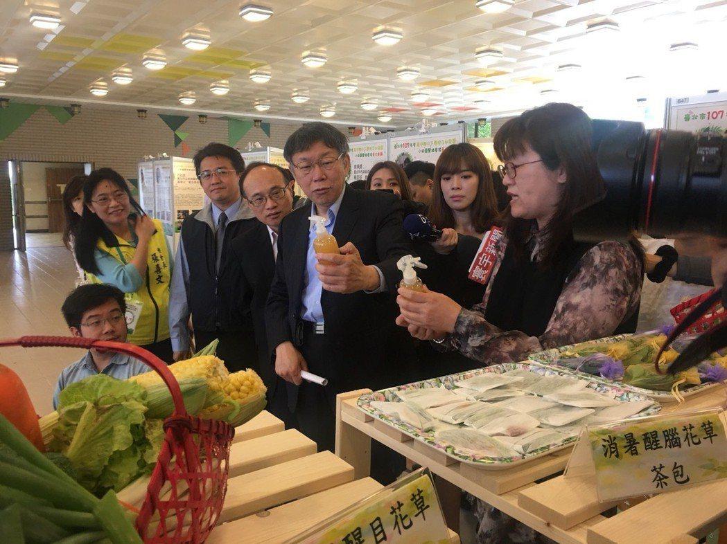 今天上午台北市長柯文哲出席教育局活動。記者魏莨伊/攝影