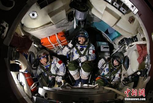 中國大陸太空人全面展開太空站任務訓練。 中新網
