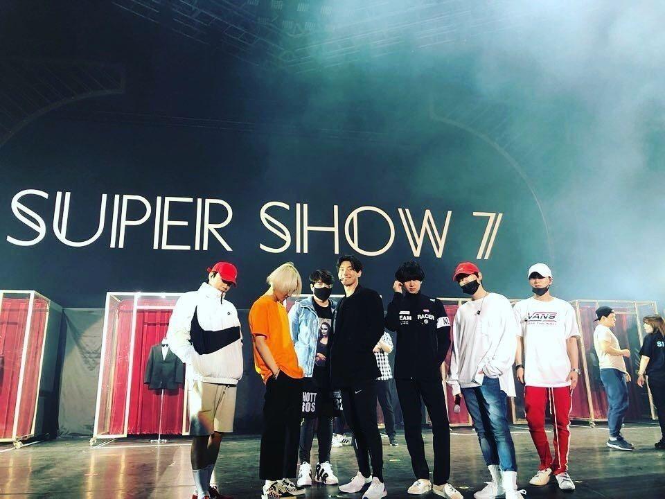 SJ今晚在台北小巨蛋開唱。圖/擷自IG