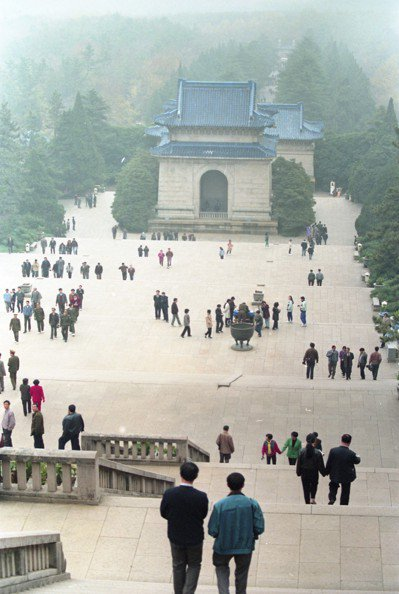 南京中山陵。 圖/聯合報系資料照片