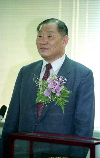 1991時任行政院政務委員張劍寒。 圖/聯合報系資料照片