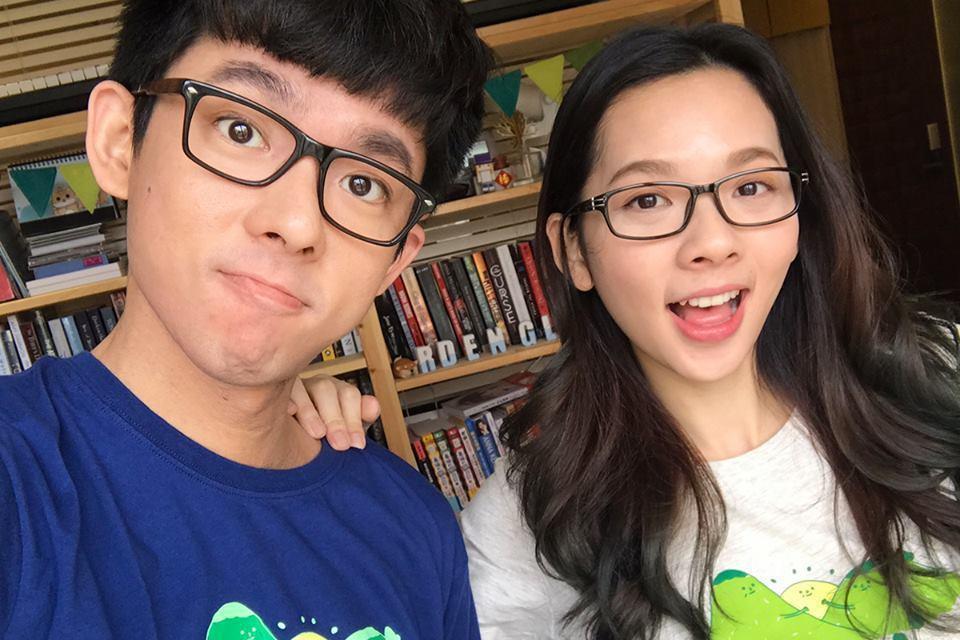 「阿滴英文」是由一對小時候從新加坡留學回來的台灣兄妹組成的英文教學頻道。 圖/擷