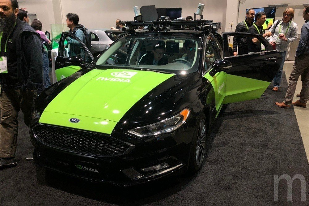 NVIDIA持續投入自動駕駛車輛技術應用