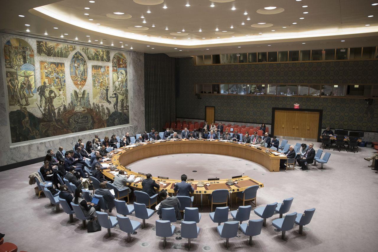 在金正恩即將和南韓和美國舉行高峰會談前,聯合國繼續對北韓施壓。美聯社