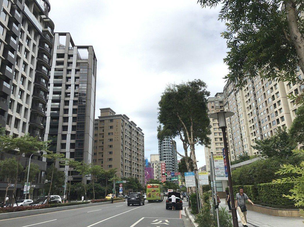 台灣房屋統計內部成交行情,3月七大都會區價量變化,以台中增加15.9%最多。記者...