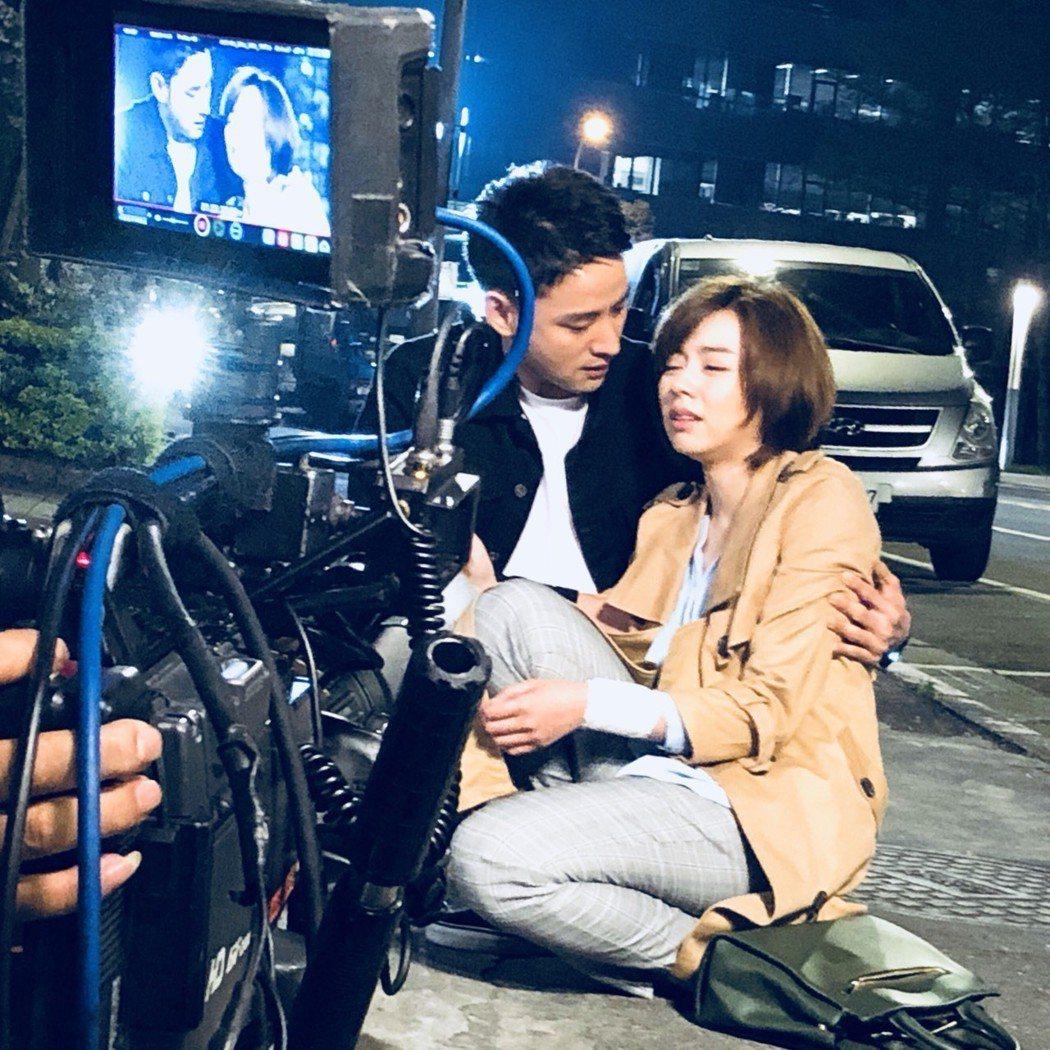王瞳演出「幸福來了」命運悲苦。圖/民視提供