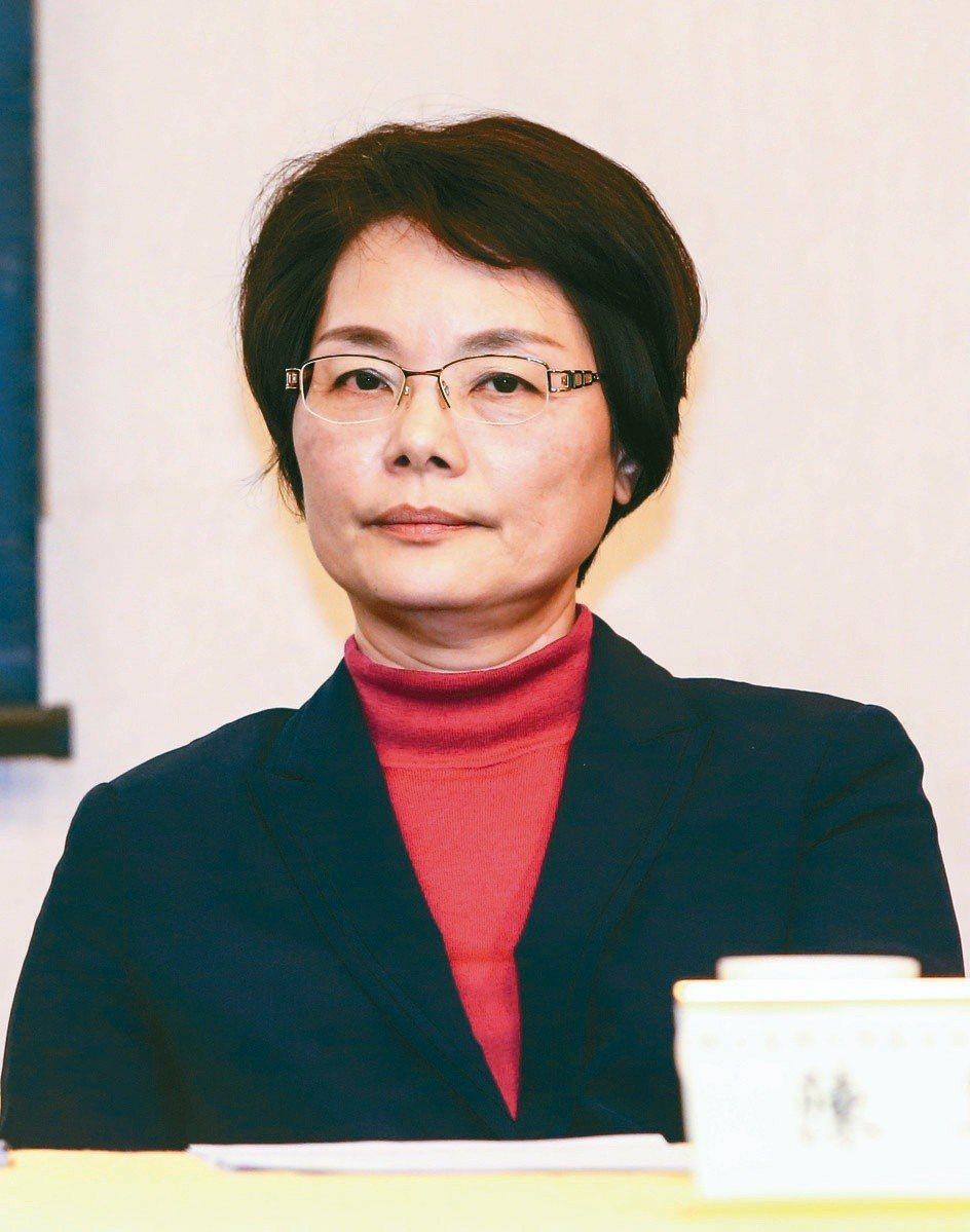 台大歷史系教授陳翠蓮。本報資枓照片