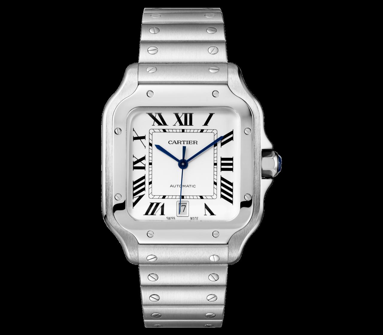 Santos de Cartier 精鋼大型款腕表,QuickSwitch 可更...