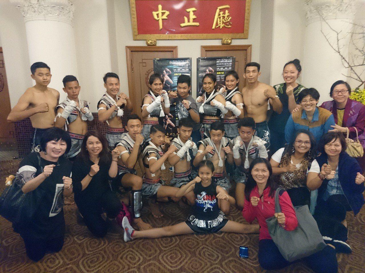 泰國駐臺北貿易經濟辦事處昨天晚在台北市中山堂中正廳舉辦泰國文化遺產「泰拳」文化表...