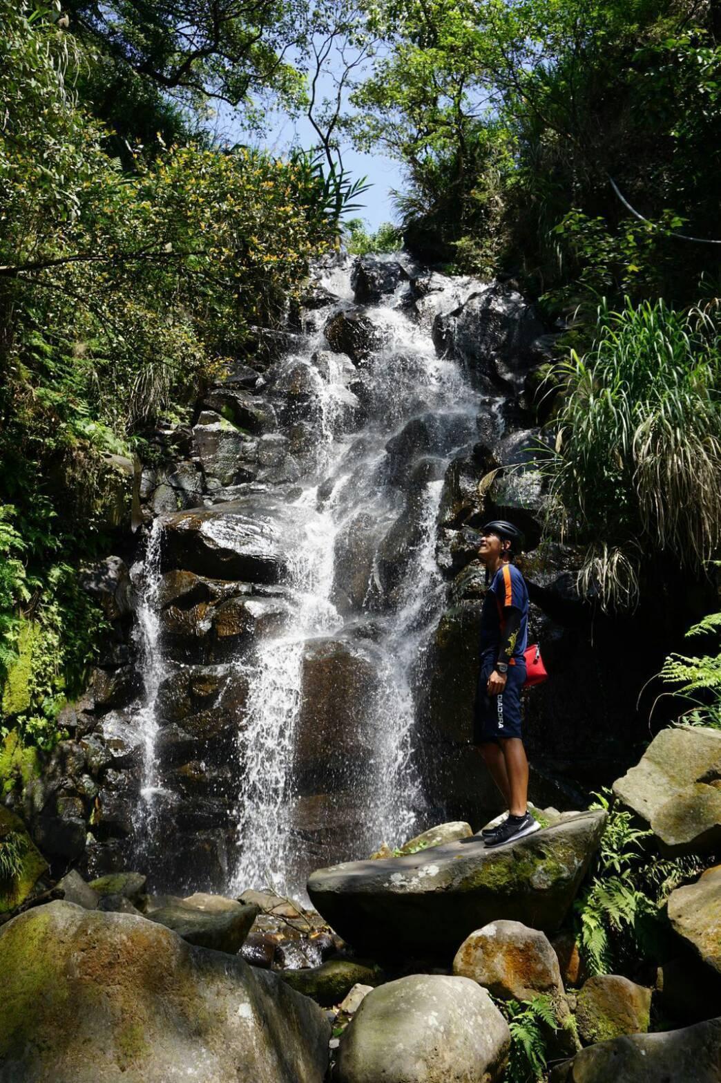 趙駿亞單騎環島30天,閱覽台灣之美。圖/海納百川提供