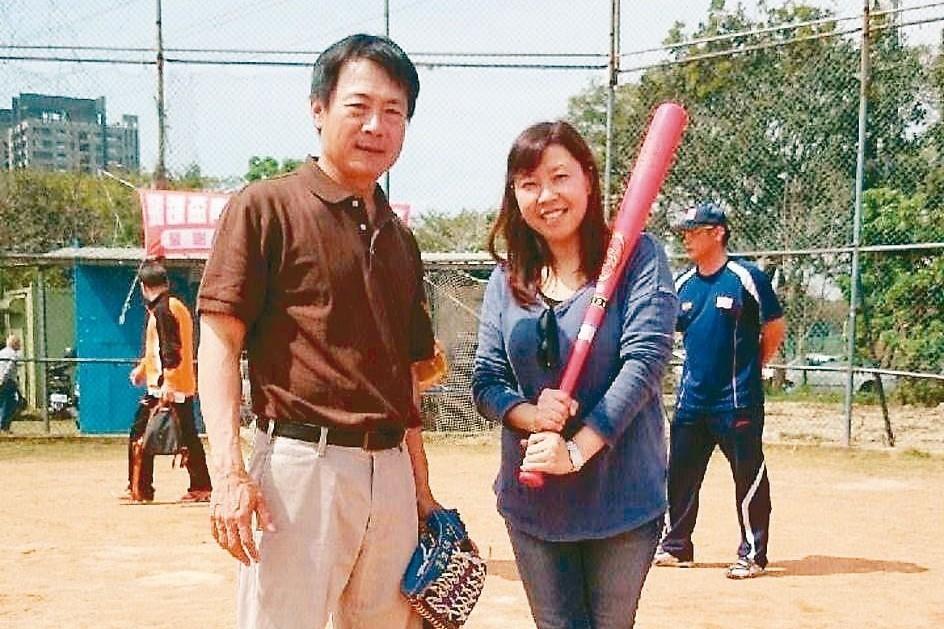 前職棒總教練呂文生(左)。 報系資料照(臺灣飛躍棒球發展協會/提供)