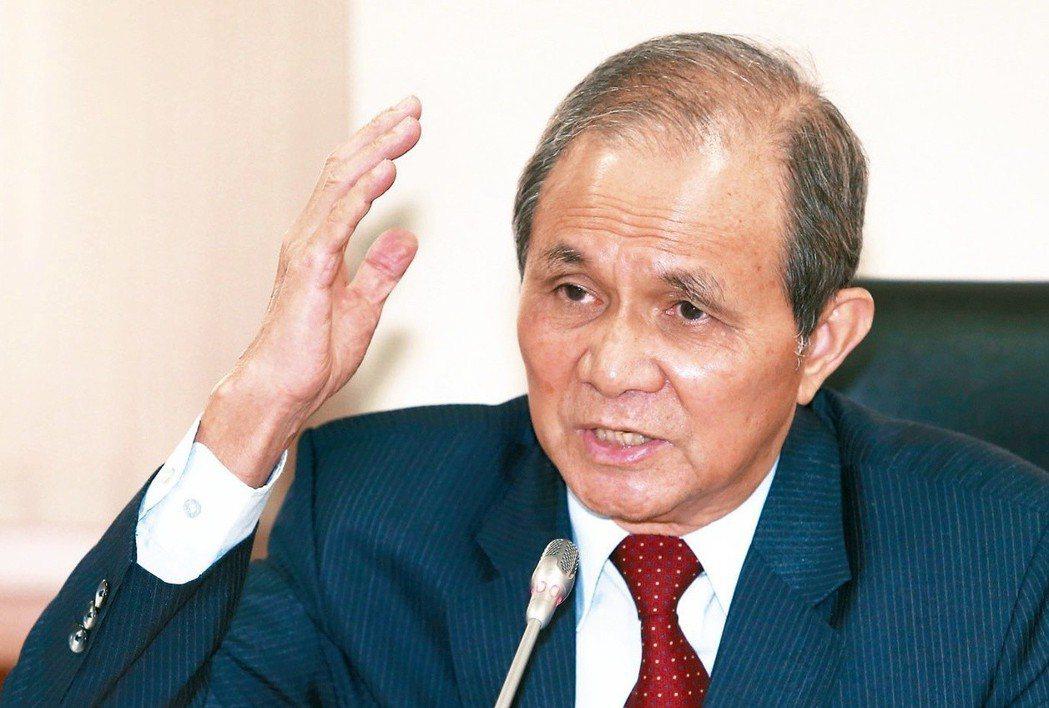 行政院日前敲定黃煌雄為促進轉型正義委員會主委人選。 圖/聯合報系資料照片