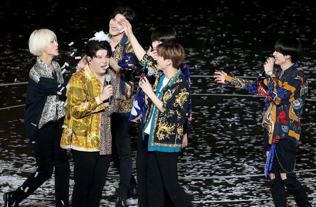 韓國男團「Super Junior」連續兩天在台北小巨蛋舉辦「SUPER SHO...