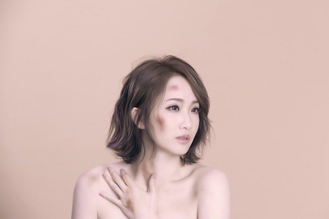 朱俐靜推新歌「懂你的獨特」。圖/福韻工作室提供