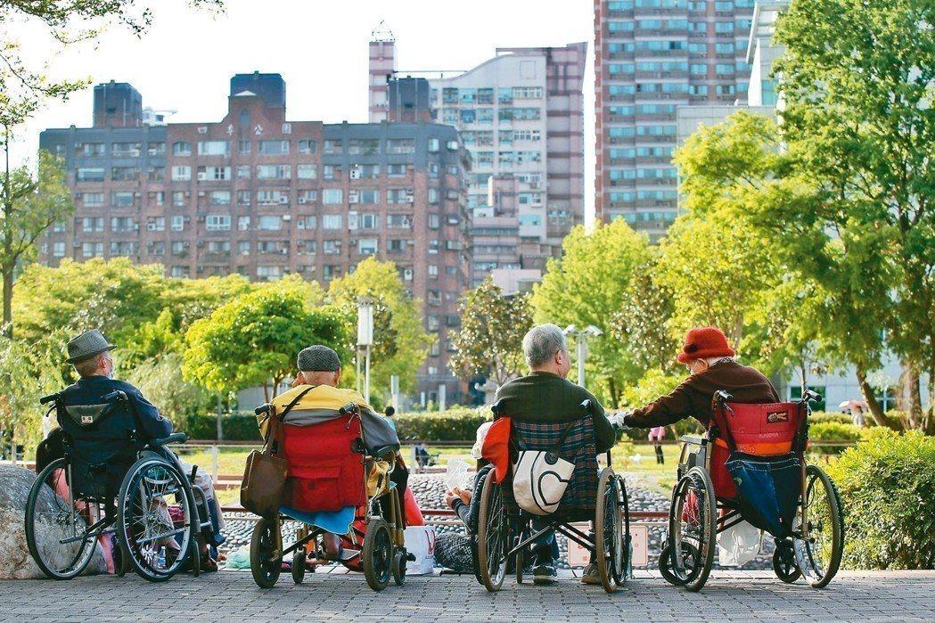 台灣正式邁入高齡社會。 圖/聯合報系資料照片