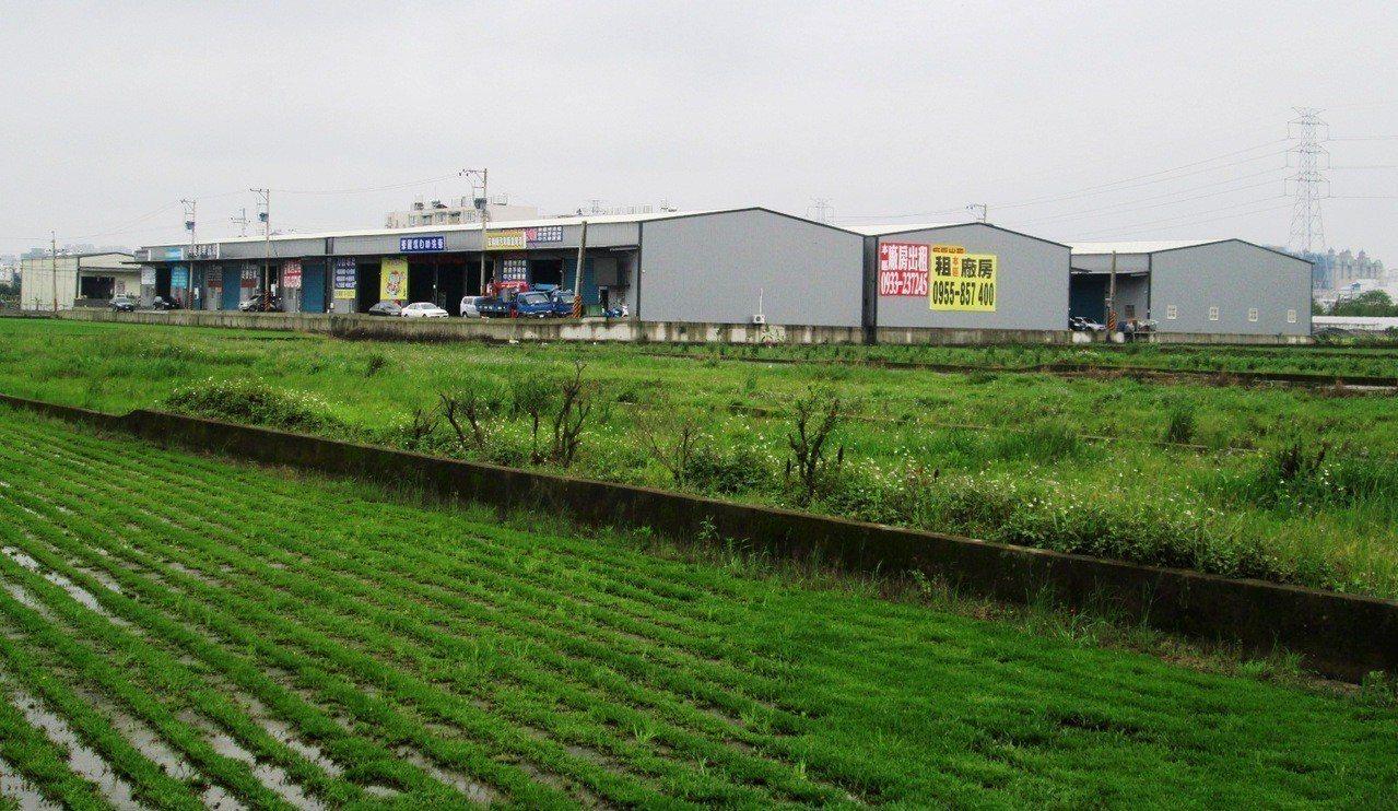 藍綠立委提案放寬納管農地違章工廠,民間團體表示無法認同。 圖/聯合報系資料照片