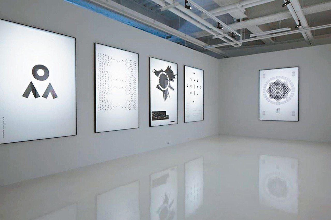 「安尚秀s.活-字.」展覽台灣首展。 圖/學學文化創意基金會