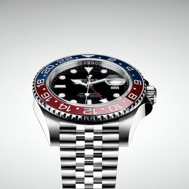 勞力士新款GMT-Master II,搭配紅藍雙色Cerachrom陶質24小時...